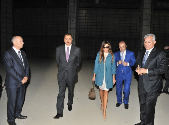 President Aliyev, his spouse review progress of construction at Skeet Shooting Complex - Gallery Image