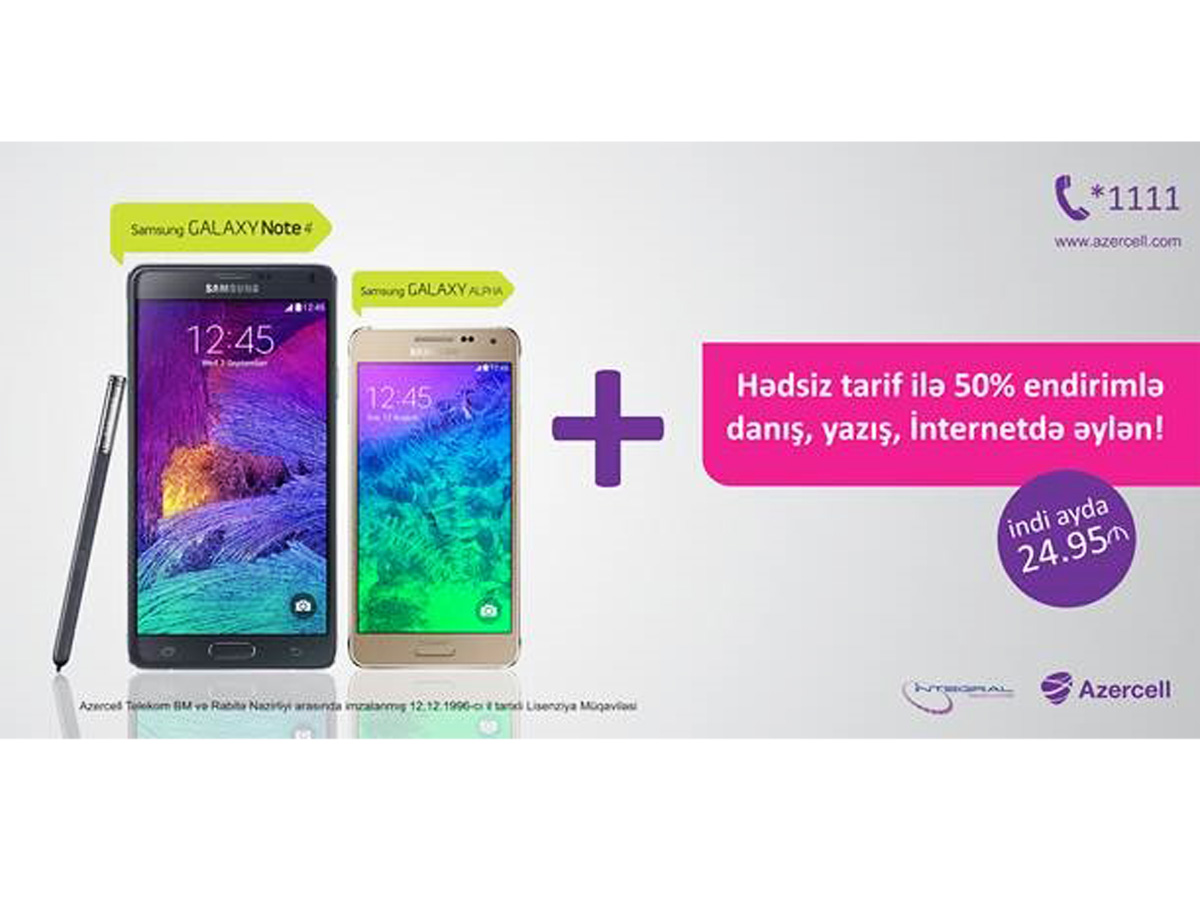 """Azercell introduces 50% discount on """"Unlimited"""" tariff package"""