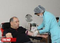 В акциях по сдаче крови в Азербайджане приняло участие свыше 2,3 тыс. человек (ФОТО) - Gallery Thumbnail