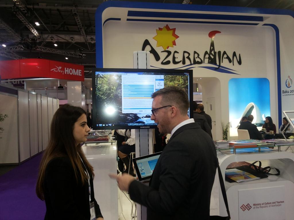 Азербайджан был успешно представлен на выставке World Travel Market – 2014 в Лондоне (ФОТО) - Gallery Image