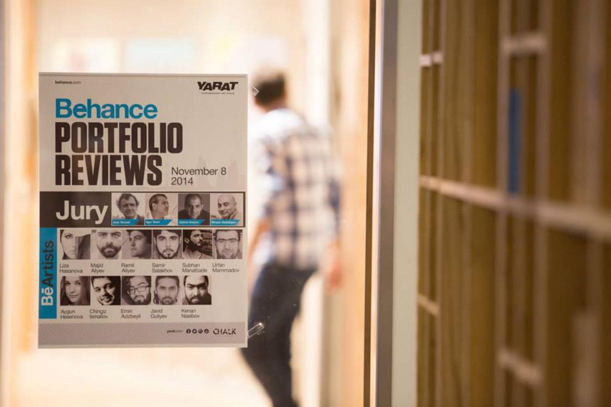 """Организация Современного Искусства """"YARAT"""" совместно с BEHANCE провела в Баку День ознакомления с портфолио (ФОТО) - Gallery Image"""