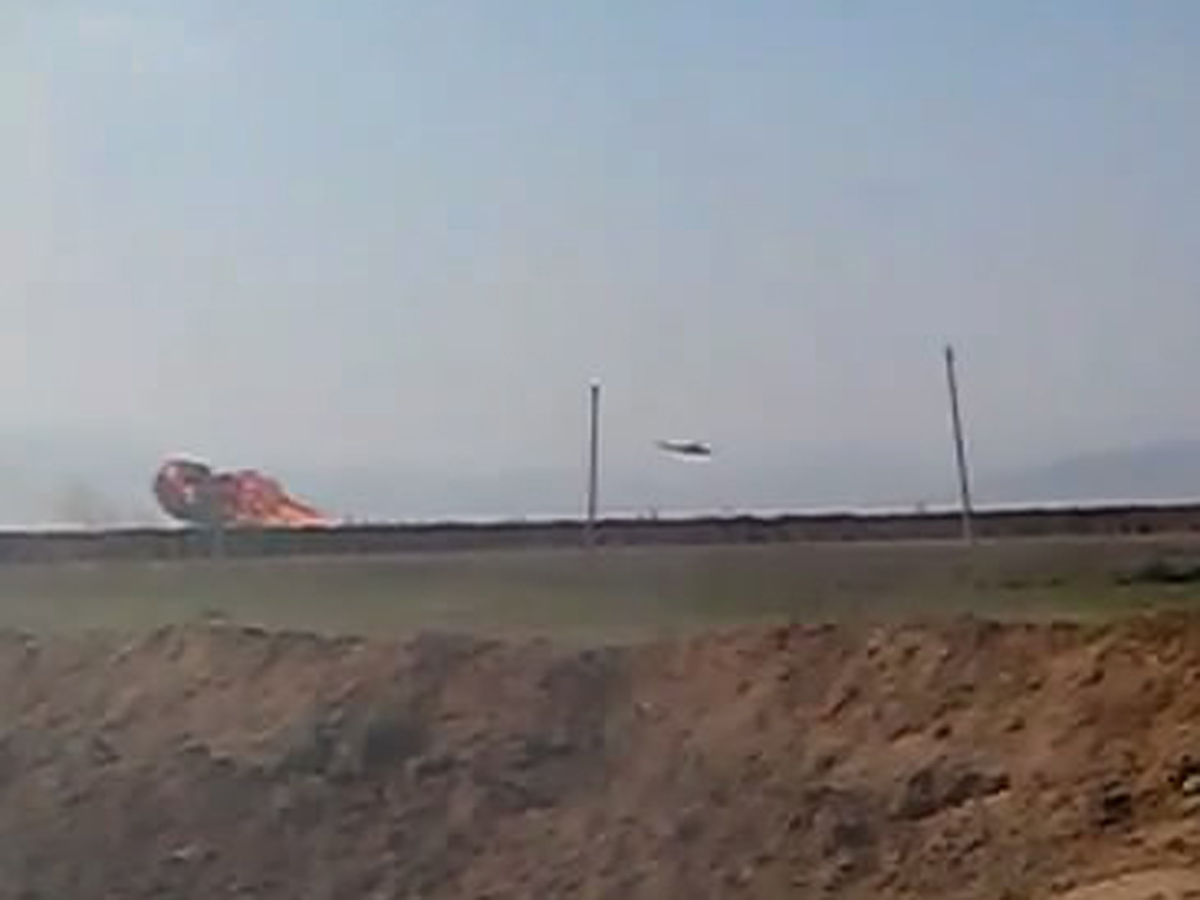 Photos, videos presented by Armenia have nothing to do with downed helicopter