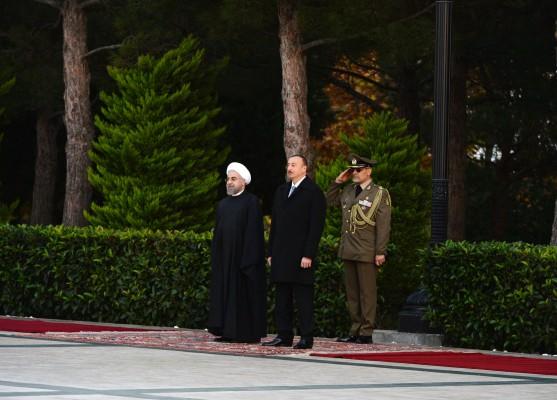 İran Prezidenti Həsən Ruhaninin rəsmi qarşılanma mərasimi olub (FOTO) - Gallery Image