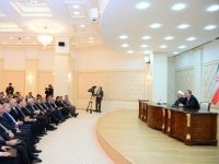 Iranian-Azerbaijani friendship unbreakable, Aliyev says (PHOTO) - Gallery Thumbnail
