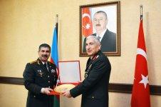 Azerbaijani defense minister receives head of Turkish Gendarmerie (PHOTO) - Gallery Thumbnail