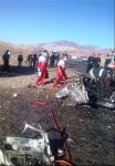 Five people burn alive in car accident in Iran - Gallery Thumbnail