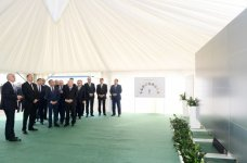 President Ilham Aliyev attended a ceremony to lay the foundation of Shamkir Agropark (PHOTO) - Gallery Thumbnail