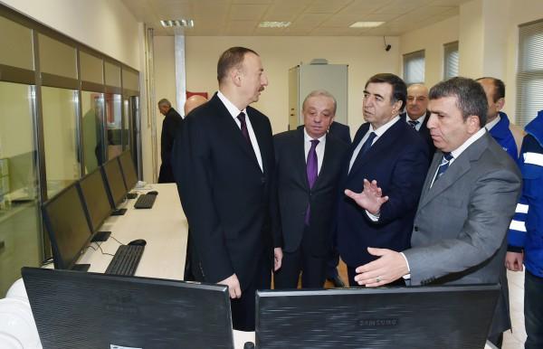 Президент Ильхам Алиев принял участие в церемонии открытия Шамкирчайского водохранилища (ФОТО) - Gallery Image