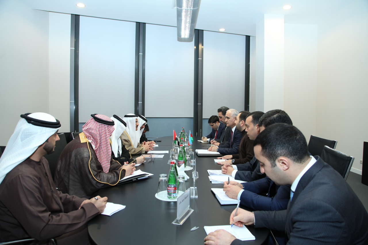 Azerbaijan, UAE interested in mutual investments (PHOTO) - Gallery Image