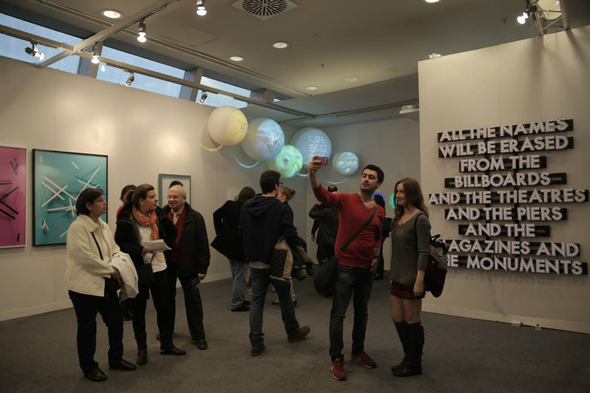 YARAT not-for-profit art organization participated  at Contemporary Istanbul int'l art fair - Gallery Image
