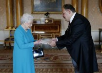 Queen Elizabeth II says partnership between Azerbaijan, UK to further develop (PHOTO) - Gallery Thumbnail