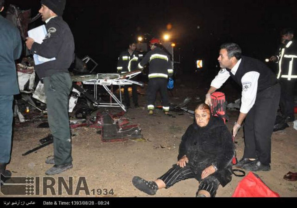 Ten people killed in Iran's bus accident (PHOTO) - Gallery Image