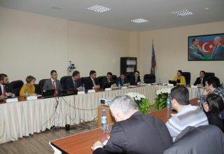 Mərkəzi Bank VISA şirkəti ilə birlikdə jurnalistlər üçün seminar keçirdi (FOTO)