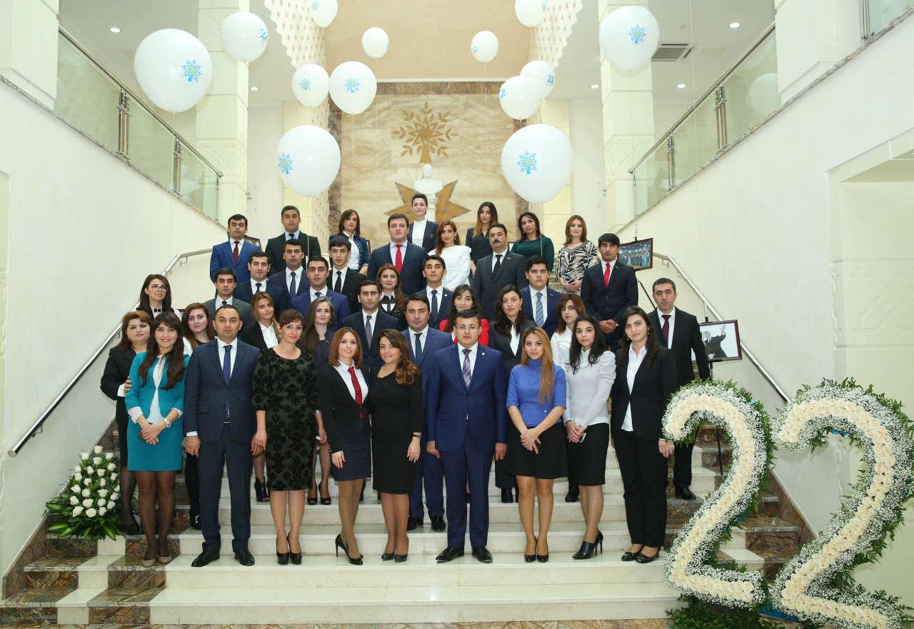 YAP Binəqədi rayon təşkilatında partiyanın yaranmasının 22 illiyi qeyd edilib (FOTO) - Gallery Image