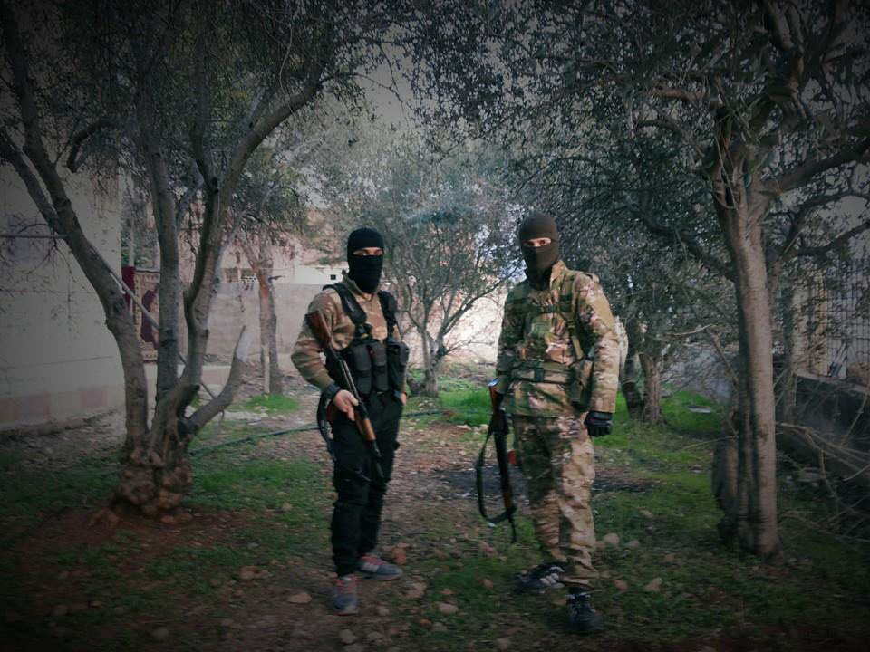 The Caucacus Soldier's Group takes shape in Syria