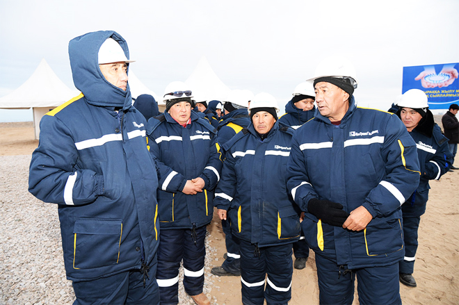 Kazakh company to deliver gas to settlements along main gas pipeline (PHOTO) - Gallery Image