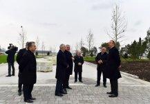 Azerbaijani president reviews preparatory work for first European Games - Gallery Thumbnail