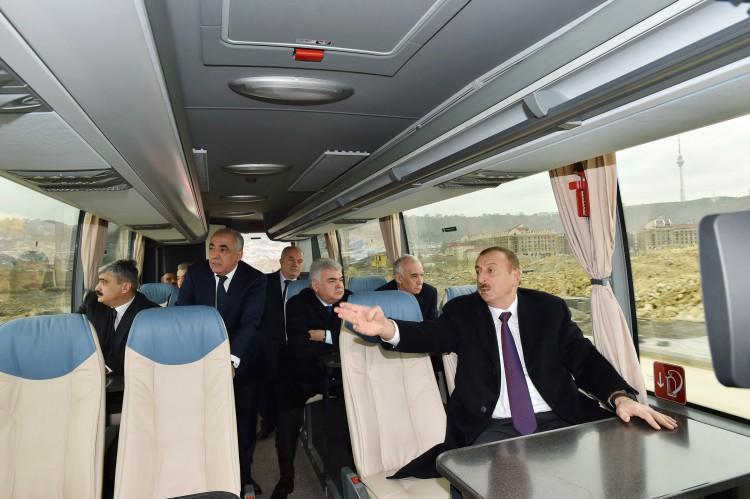 Azerbaijani president reviews preparatory work for first European Games - Gallery Image