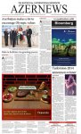 AZERNEWS releases another print issue - Gallery Thumbnail
