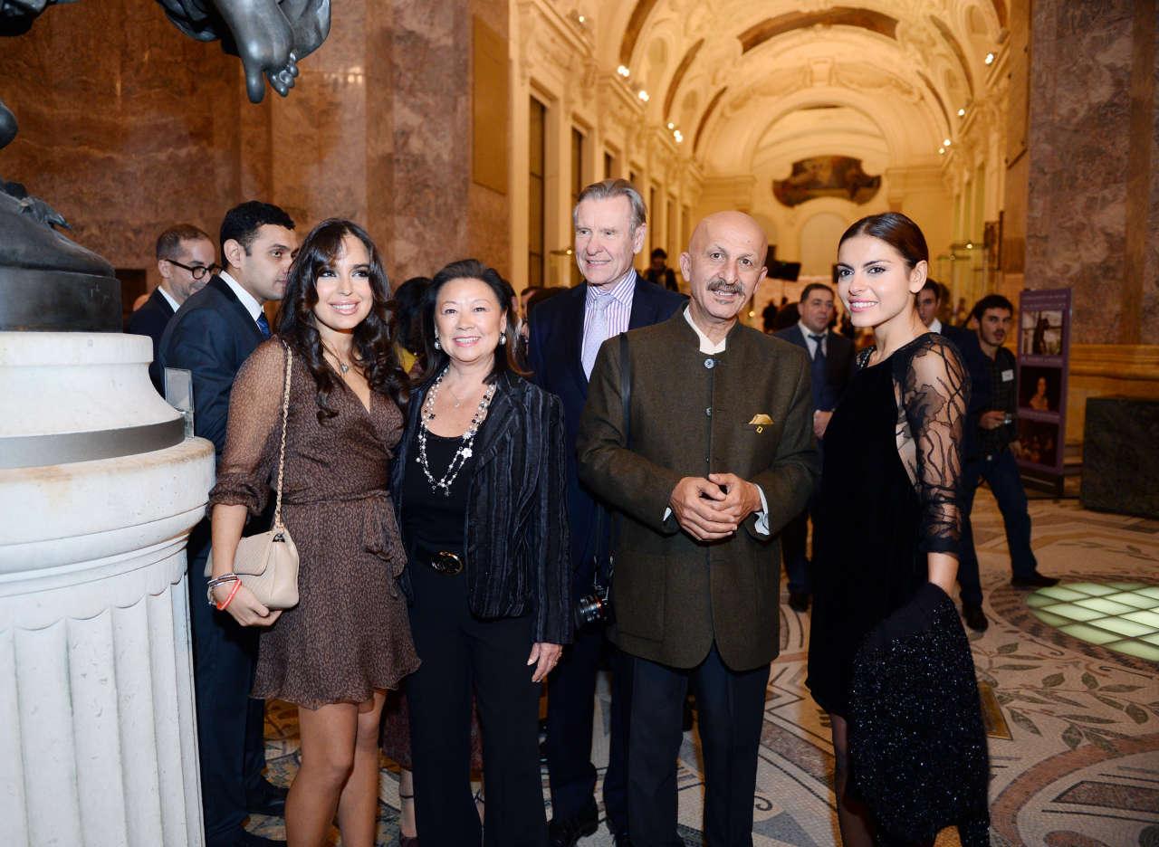 Mehriban Aliyeva, Leyla Aliyeva attend presentation of Reza Deghati's photo exhibition - Gallery Image