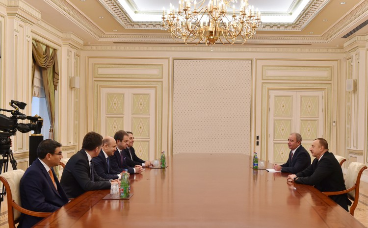 Президент Азербайджана принял министра науки, промышленности и технологий Турции