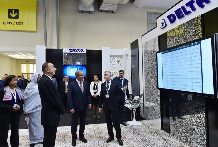 """Prezident İlham Əliyev """"Bakutel-2014"""" sərgisinin rəsmi açılışında iştirak edib  (FOTO) - Gallery Image"""