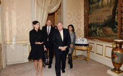 Azerbaijan`s First Lady Mehriban Aliyeva meets president of French Senate - Gallery Thumbnail