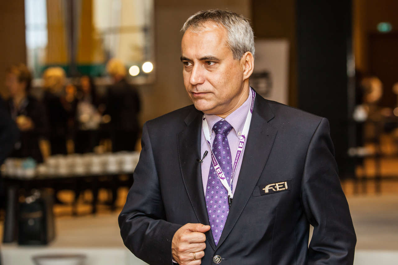 Baku to be in FEI's memory as city where organization's new president was elected