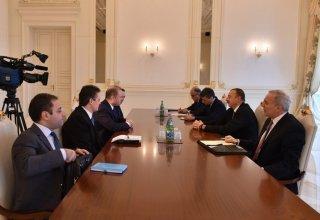 Azerbaijani president receives delegation led by Malta's PM
