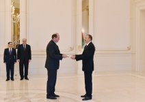 President Aliyev receives newly-appointed Austrian, Afghan ambassadors - Gallery Thumbnail