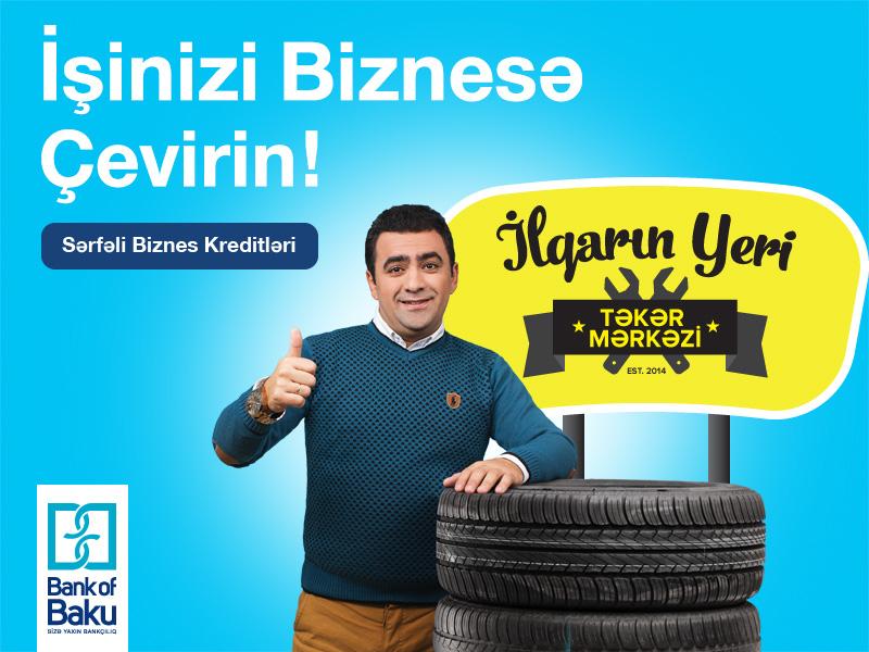 """Bank of Baku-dan öz işini qurmaq istəyənlər üçün """"Start UP"""" kreditləri (FOTO) - Gallery Image"""