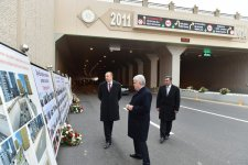 President Aliyev attends opening of Ziya Bunyadov Avenue after reconstruction - Gallery Thumbnail