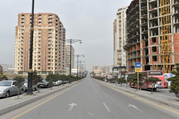 President Aliyev attends opening of Ziya Bunyadov Avenue after reconstruction - Gallery Image