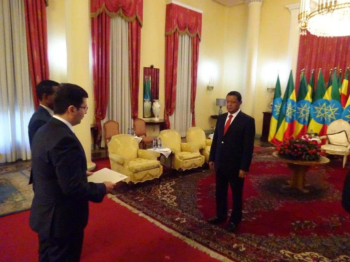 В Эфиопии аккредитован посол Азербайджана (ФОТО) - Gallery Image
