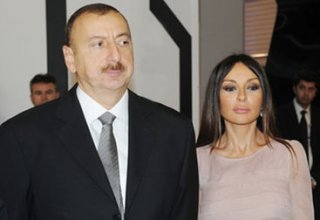 Azerbaijani president, first lady express condolences to president of Tatarstan