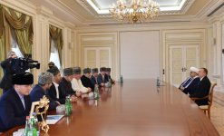 President Ilham Aliyev receives religious figures of the North Caucasus republics of Russia - Gallery Thumbnail
