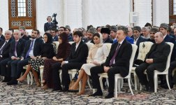President Aliyev and his spouse attend opening of Heydar Mosque in Baku - Gallery Thumbnail