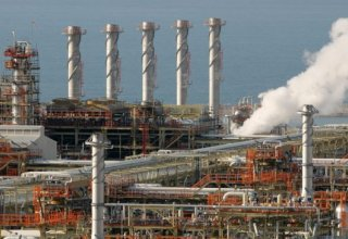 Production of Iran's South Pars Gas Complex up