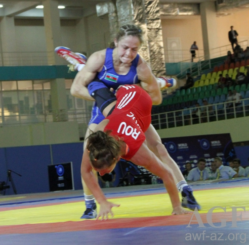 Omelchenko grabs 74-th gold medal for Azerbaijan at Baku 2017