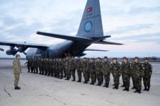 Kabul International Airport to be protected by Azerbaijani peacekeepers (PHOTO) - Gallery Thumbnail