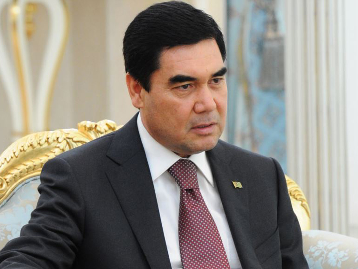 Turkmen president offers condolences to Belgian king
