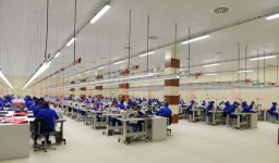 President Aliyev attended the opening of sewing factory in Sumgayit - Gallery Thumbnail