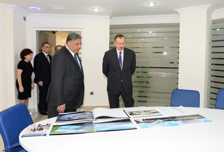 President Ilham Aliyev attended the opening of the Youth House in Sumgayit - Gallery Image