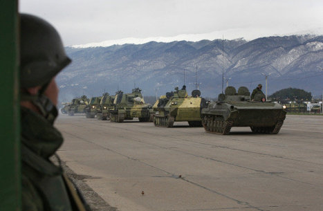 Armenians demand withdrawing of Russian military base from country