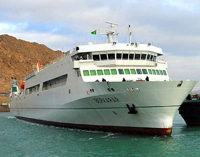 Turkmenistan receives new ferry from Croatia