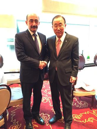 UN secretary general to attend Alliance of Civilizations' forum in Baku (PHOTO) - Gallery Image