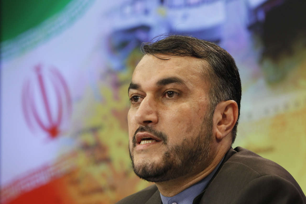 Iran calls for an end to shipment of arms and munitions to Syria