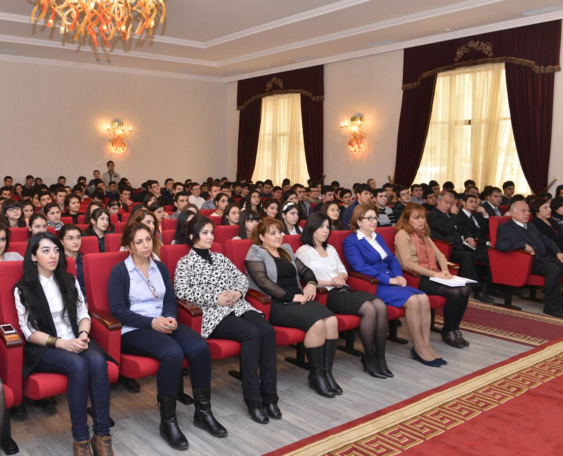 В Бакинской высшей школе нефти прошло мероприятие, посвященное Дню молодежи (ФОТО) - Gallery Image