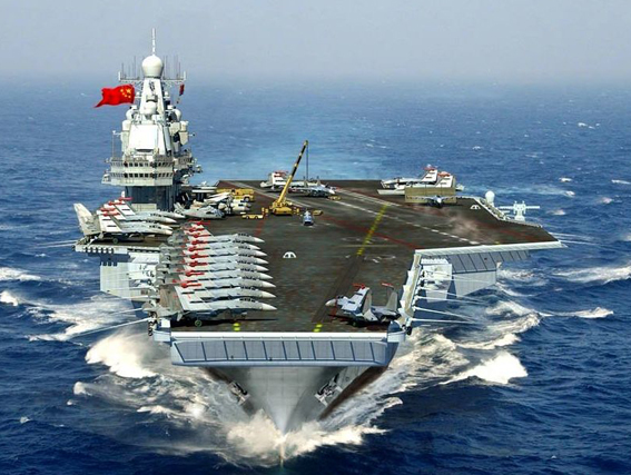 First Chinese-built aircraft carrier starts second sea rrials