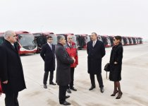 Azerbaijani president, his spouse review work as part of First European Games (PHOTO) - Gallery Thumbnail